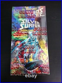1992 Marvel Silver Surfer All Prism Trading Cards SEALED UNOPENED BOX 36 Packs