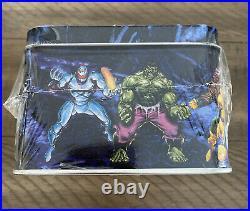 1992 Skybox Marvel Masterpieces Factory Sealed Tin Trading Card Set /35,000/rare