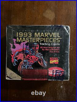 1993 MARVEL MASTERPIECES TRADING CARD BOX FACTORY SEALED Skybox
