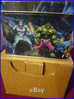 1993 Marvel Masterpieces Series 1, Tin Box Set With Insert Cards, Factory Sealed