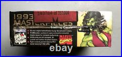 1993 Marvel Masterpieces Trading Cards Factory-sealed Unopened Box (ships Free)