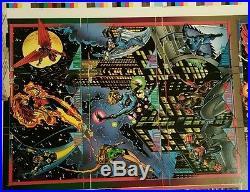1993 Marvel Skybox 90-Card Uncut Sheet 1 RARE EX Venom Carnage Galactus EX