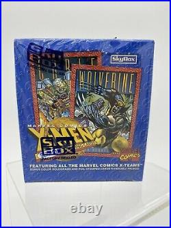 1993 Marvel X-Men Series 2 Trading Cards Factory SEALED 36 Packs! SkyBox