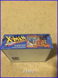 1993 Marvel X-Men Series 2 Trading Cards SEALED UNOPENED BOX 36 Packs! SkyBox