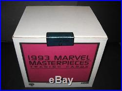 1993 Skybox Marvel Masterpieces Factory Sealed Case 20 Boxes Super Sale Rare
