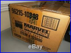 1993 Skybox Marvel Universe Series 4 Trading Card CASE 20 Sealed boxes 720 packs
