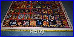 1993 X-Men Marvel Skybox 100 Card Uncut Sheet Series 2 RARE Wolverine Deadpool