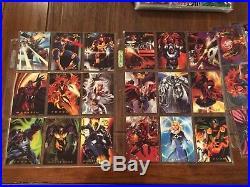 1994 1995 Flair Marvel Annual Master Set BOTH NM/M