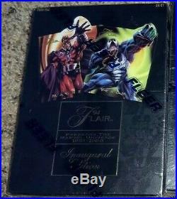 1994 FLEER FLAIR MARVEL UNIVERSE factory sealed box (NR)