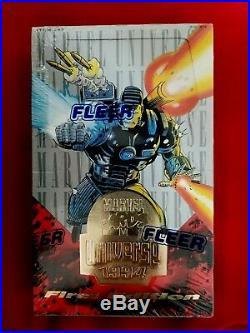 1994 FLEER Marvel UNIVERSE 1st EDITION RARE BOX! Factory Sealed Box