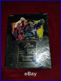 1994 Flair Marvel Inaugural Edition Sealed Factory Box