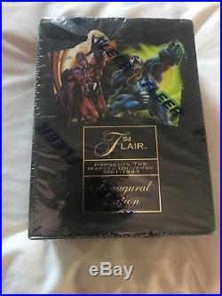 1994 Flair Marvel Universe Factory Sealed Box! Inaugural Edition