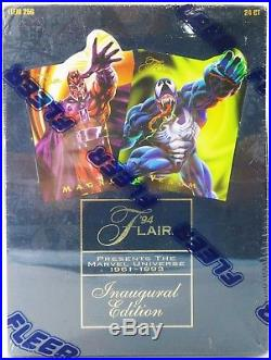 1994 Flair Marvel Universe Inaugural Edition Trading Cards Factory Sealed O603