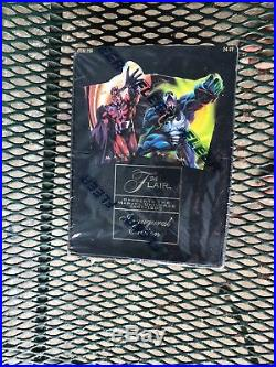 1994 Fleer Flair Marvel Universe Inaugural Edition trading cards box sealed