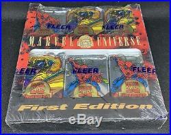 1994 Fleer Marvel First Edition Factory Sealed Jumbo Box 36 Packs