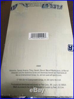 1994 Fleer Marvel Masterpieces Hilderbrandt Edition-RARE BOX! NICE CARDS