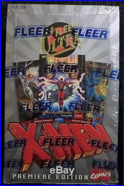 1994 Fleer Marvel Ultra X-men Trading Cards Hobby Box Sealed