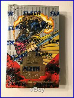1994 Fleer Marvel Universe 1st Edition Factory Sealed Box