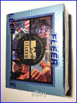 1994 Fleer Ultra Marvel Masterpieces Series 3 Variant Factory Sealed Walmart Box