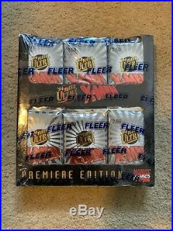 1994 Fleer Ultra Marvel X-Men Trading Cards SEALED UNOPENED JUMBO BOX 36 Packs