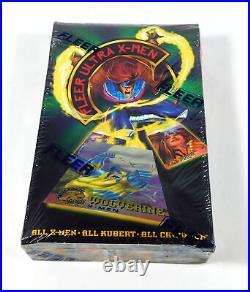 1994 Fleer Ultra X-Men Chromium Trading Card Box Sealed (36 Packs)
