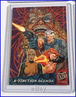 1994 Fleer Ultra X-Men Silver X-Overs 1 2 3 4 5 6 Marvel X-Over NM/MINT Set