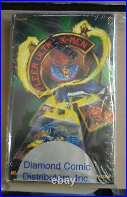 1994 Fleer Ultra X-men Chromium Trading Cards Factory Sealed Box 36 Packs