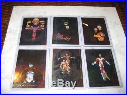 1994 Fleer Ultra X-men Silver X-overs Trading Cards Set 1 6 Marvel Comics Rare