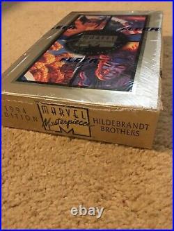 1994 Marvel Masterpiece Trading Cards SEALED UNOPENED BOX 36 Packs! Fleer