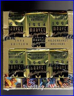 1994 Marvel Masterpieces Jumpo Box 36ct