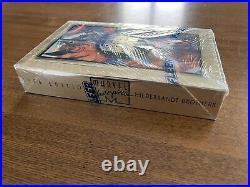 1994 Marvel Masterpieces Sealed Box 36 Packs Trading Cards X-Men Avengers Fleer