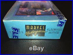 1994 Marvel Masterpieces Wal-Mart Blue Box Sealed Bronze Holofoils NM RARE