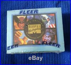 1994 Marvel Masterpieces Walmart Box Sealed Bronze Holofoils