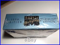 1994 Marvel Masterpieces Walmart Box Sealed Bronze Holofoils RARE