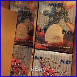 1994 Marvel Universe Cards Opened Case 18 factory sealed boxes Discount