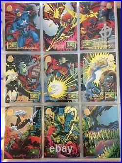 1994 Marvel Universe Series 5 Trading Cards COMPLETE BASE SET, #1-200 NM/M Fleer