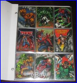 1994 Spanish/Mexico Marvel Pepsi BASE & PRISM Sets with Collector's Album RARE