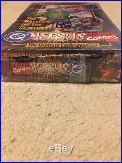 1995 DC Comics Versus Vs Marvel Trading Cards SEALED BOX 36 Packs Inside