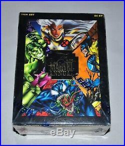 1995 Flair Marvel Annual Factory Sealed Box 24 Mint Packs Fleer'95