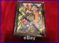 1995 Fleer Flair Marvel Annual Factory Sealed Trading Card Box 24 Packs