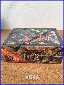 1995 Fleer Flair Marvel Annual Series 2 Trading Cards Unopened Box Sealed