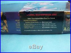 1995 Fleer MARVEL MASTERPIECES Sealed Box 36 Packs #8292