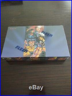 1995 Fleer Marvel Masterpieces Factory Sealed 36 Pack Box