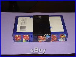 1995 Fleer Marvel Masterpieces Factory Sealed Box