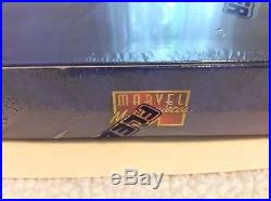 1995 Fleer Marvel Masterpieces Factory Sealed Box 36 Packs Free Shipping