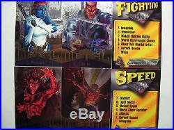 1995 Fleer Marvel Metal Complete Master Set NM/M