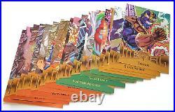 1995 Fleer Marvel Metal Near Complete Trading Card Set (133/138) Nm