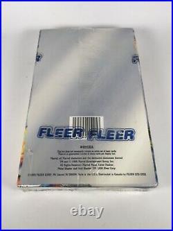 1995 Fleer Marvel Metal Trading Card Box Sealed (36 Packs) Inaugural Edition