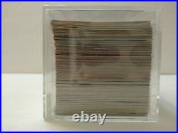 1995 Fleer Marvel Metal Trading Cards Complete Base Set, #1-138