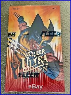 1995 Fleer Ultra Marvel X-Men Trading Cards Factory Sealed Box 36 Packs
